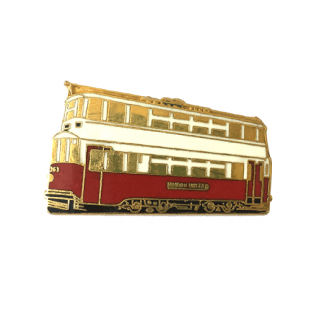 London Feltham Tram Collectors Badge